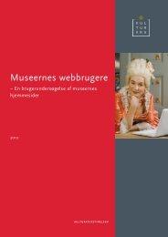 Museernes webbrugere - Kulturstyrelsen