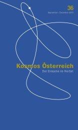 kosmos 36 pdf - Österreichisches Kulturforum Berlin