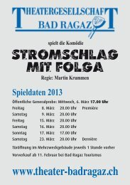 Stromschlag mit Folga - Kulturhirsch