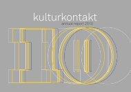 annual report 2010 - KulturKontakt Austria