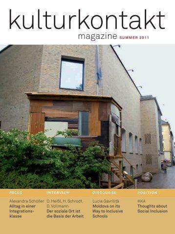 Cover - KulturKontakt Austria
