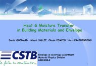Heat & Moisture Transfer in Building Materials and ... - KU Leuven