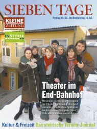 Theater im End-Bahnhof - Kultur Service Gesellschaft Steiermark