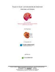 als pdf zum Download - Kultur Steiermark