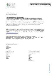 Anmeldung pdf zum Download - Kultur Service Gesellschaft ...