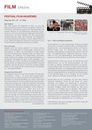 FILM Spezial - Kultur Service Gesellschaft Steiermark