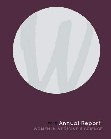 2012 WIMS Annual Report - University of Kansas Medical Center