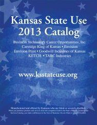 2013 State Use Catalog