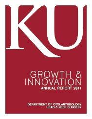 GROWTH & INNOVATION - University of Kansas Medical Center