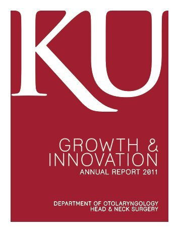 GROWTH & INNOVATION - University of Kansas Medical Center