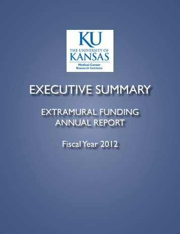 Extramural Funding Report, Summary 06-30-2012 - University of ...