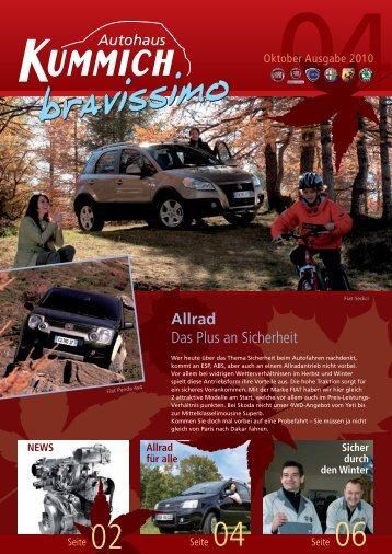 Kummich - Kundenzeitung - Ausgabe 04 - 2010-09 - end q.indd