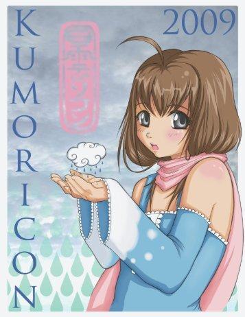 2009 program book cover - Kumoricon