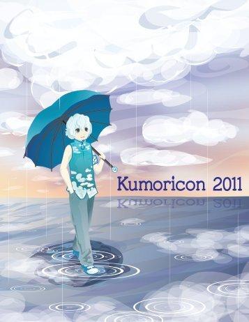 Program Book - Kumoricon