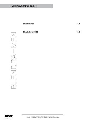 BLENDRAHMEN - Kunex