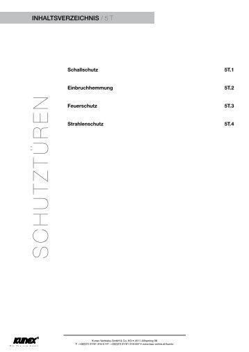 SCHUTZTÜREN - Kunex
