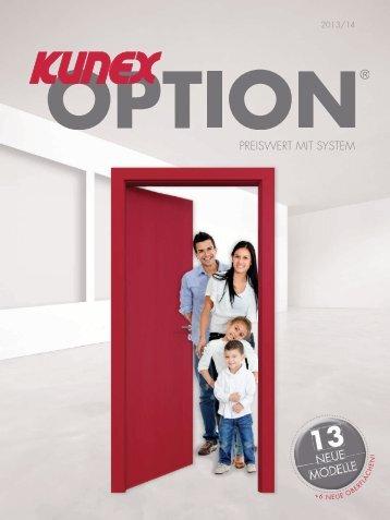 Katalog Option 2013_Cover.indd - Kunex