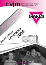 januar - februar programm 2008 - CVJM Kassel eV