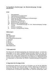 Fachspezifische Bestimmungen des Masterstudiengangs Kunstge ...