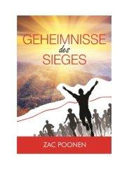 Geheimnisse des Sieges - Zac Poonen