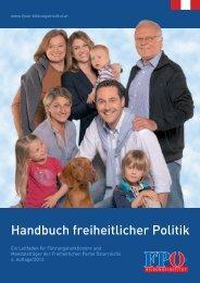 Handbuch freiheitlicher Politik