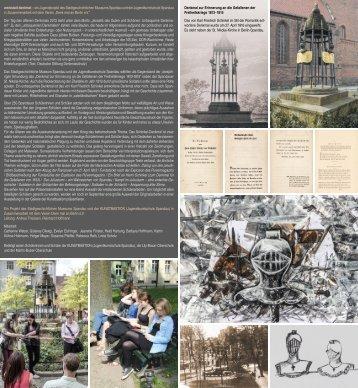werkstatt denkmal – ein Jugendprojekt des ... - Kunstbastion