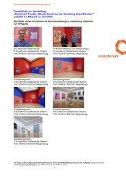 """Pressebilder zur Ausstellung """"Permanent Trouble. Aktuelle Kunst ..."""
