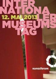 Inter natIona ler MuseuMs tag - Kunstforum Ostdeutsche Galerie ...