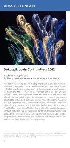 Untitled - Kunstforum Ostdeutsche Galerie Regensburg - Seite 6