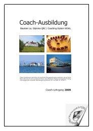 Coaching-Ausbildung 2009 - DAGH