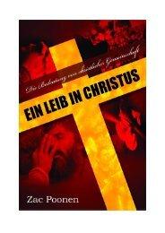 Ein Leib in Christus - Zac Poonen