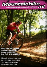 Mountainbike .nl downloadable special edition - Daags
