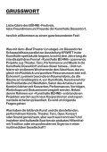 KUNSTHALLE BÜHNE: DAS FEST! - Kunsthalle Düsseldorf - Seite 4