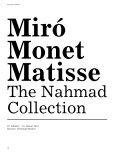 Magazin 3 · august 2011 10 Miró, Monet, Matisse ... - Kunsthaus Zürich - Page 5