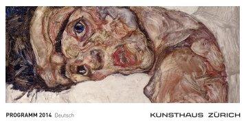 Jahresprogramm 2014 - Kunsthaus Zürich
