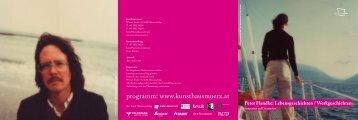 literatur Peter Handke/2012 - kunsthaus muerz