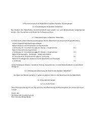 Prüfungsordnung, Studienplan und Modulhandbuch ...