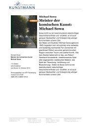 Meister der komischen Kunst: Michael Sowa - Verlag Antje Kunstmann