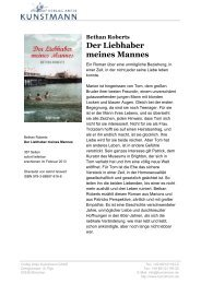 Der Liebhaber meines Mannes - Verlag Antje Kunstmann GmbH