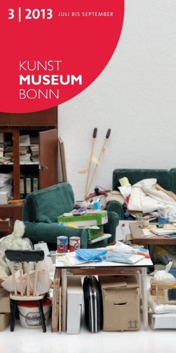 3 | 2013 Juli bis september - Kunstmuseum Bonn