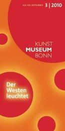 3 | 2010 - Kunstmuseum Bonn
