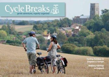 Norfolk - Suffolk Cycle Breaks