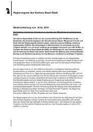 Download Medienmitteilung Schenkung - Kunstmuseum Basel