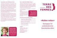 Download Flyer Rollen rollen Terre des Femmes (pdf)