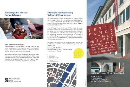 internationaler museumstag sonntag 12. mai 2013 10 –17 uhr auf ...