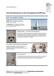 detailprogramm (pdf) - Kunstmuseum Olten