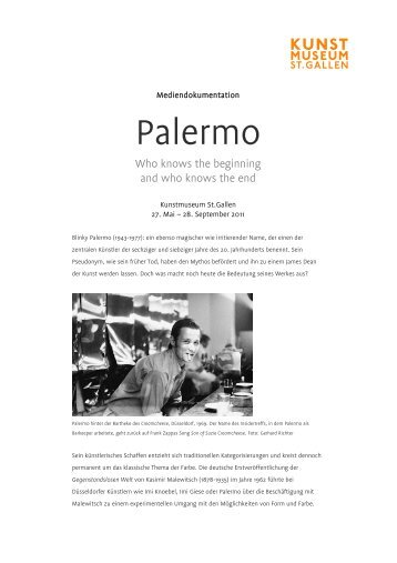 Palermo - Kunstmuseum St.Gallen