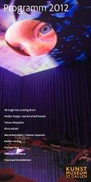 Programm 2012 - Kunstmuseum St.Gallen