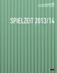 können Sie das Spielzeitheft als pdf downloaden. - Schauspiel Köln