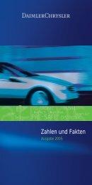 DaimlerChrysler - Zahlen und Fakten (Ausgabe 2005, Stand März ...